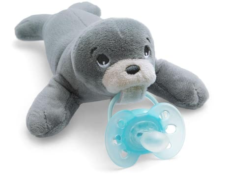 Philips AVENT Soft Toy / Soother Holder Snuggle -  * These cheerful and cuddly soft Snuggle toys will soon become your child's best friend. The Philips AVENT Snuggle can be used as a comforting soft toy and / or as a soother holder.