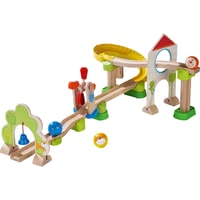 HABA Kullerbü – Kugelbahn Windradbahn - from 24 months, the cute wind turbine is an extensive, flexibly expandable ball track game world with many great effects, safe and varied fun, can be sup...