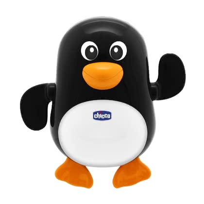 "Chicco Bath Toy ""Swimming Penguin"" -  * With this cheerful bath toy, fun in the bathtub is guaranteed!"
