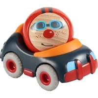 HABA Kullerbü – Stock Car -  * Here comes the funny stock car from HABA's Kullerbü range!