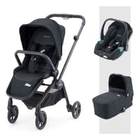 Recaro Sadena 3-in-1 Travel System - * The perfect companion for every situation right from the very first! The Recaro Sadena 3-in-1 travel system comes with a seat unit, carrycot and the Avan infant car seat. When attached to the compact Sadena frame, this system stands out as the ideal companion in an urban environment.
