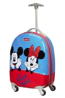 Samsonite Disney Minnie & Mickey Stripes Children's Spinner - ✓robust kids' spinner ✓small & easy to carry ✓for children from 3 years ✓telescopic handle ✓4 wheels – rotatable by 360° ✓1.7 kg ✓premium workmanship