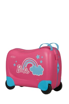 Samsonite Dream Rider Kids' Spinner Barbie - ✓robust kids' spinner in Barbie design ✓can be used as a ride-on toy ✓for children from 3 - 8 years ✓volume: 28 litres ✓4 smooth-running wheels ✓ribbons