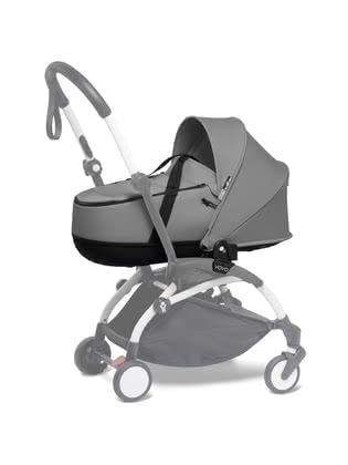 Babyzen YOYO Carrycot - The ultra-light, semi-hard Babyzen carrycot turns your YOYO+ or YOYO² into a full-fledged stroller that can be used right from the first day of life.