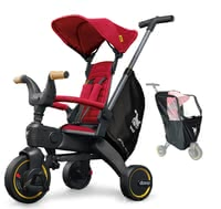 Doona Liki Trike S5 including Rain Cover -  * ✓ foldable tricycle ✓ premium equipment including rain cover ✓ ideal for travelling ✓ compact fold
