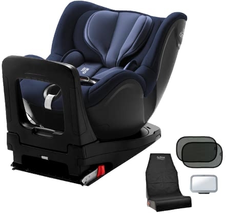 Britax Römer Dualfix i-Size including Safety Kit - ✓ Rear-facing child car seat ✓ from birth ✓ conforms to i-size standard ✓ SICT inside ✓ including safety kit: with backseat mirror, sun shades and car seat protector