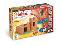 Teifoc Steinbaukasten Burg / Stifthalter - This small castle provides a lot of tension during the set-up and dismantling. As a decorative pen holder, she can store all your child's colorful pens.