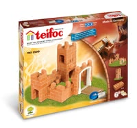 teifoc Steinbaukasten Burg - Your little construction artist can really let off steam here. In this set, three different castles with towers and drawbridges can be bricked.