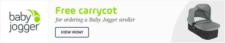 Baby Jogger free carrycot