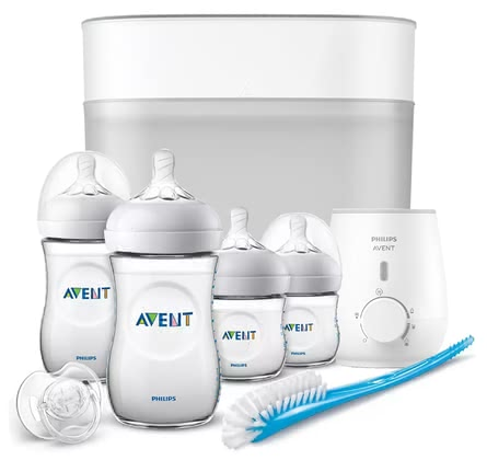 Phillips AVENT Starter Set -  * The Phillips AVENT starter set provides the first basic equipment for a carefree start with your baby.