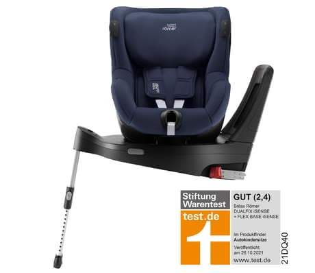 Britax Römer Dualfix iSENSE incl. FlexBase iSENSE - The clever follow-up seat Dualfix iSENSE in bundle with the FlexBase iSENSE offers you and your child important Safety features, great comfort features a...
