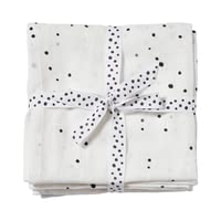 Done by Deer Pucktuch 2er-Pack Dreamy dots - Done by Deer's breathable muslin puck wipes are great everyday helpers for you and your baby.