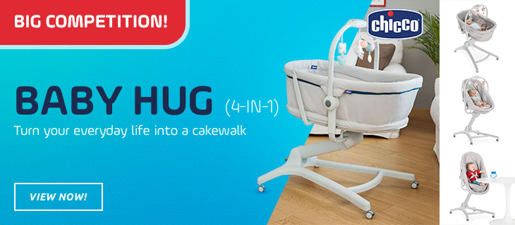 Competition chicco Baby Hug 4 in 1 - Buy at kidsroom