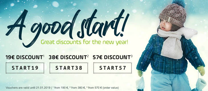 Great discounts for the new year! - Buy at kidsroom