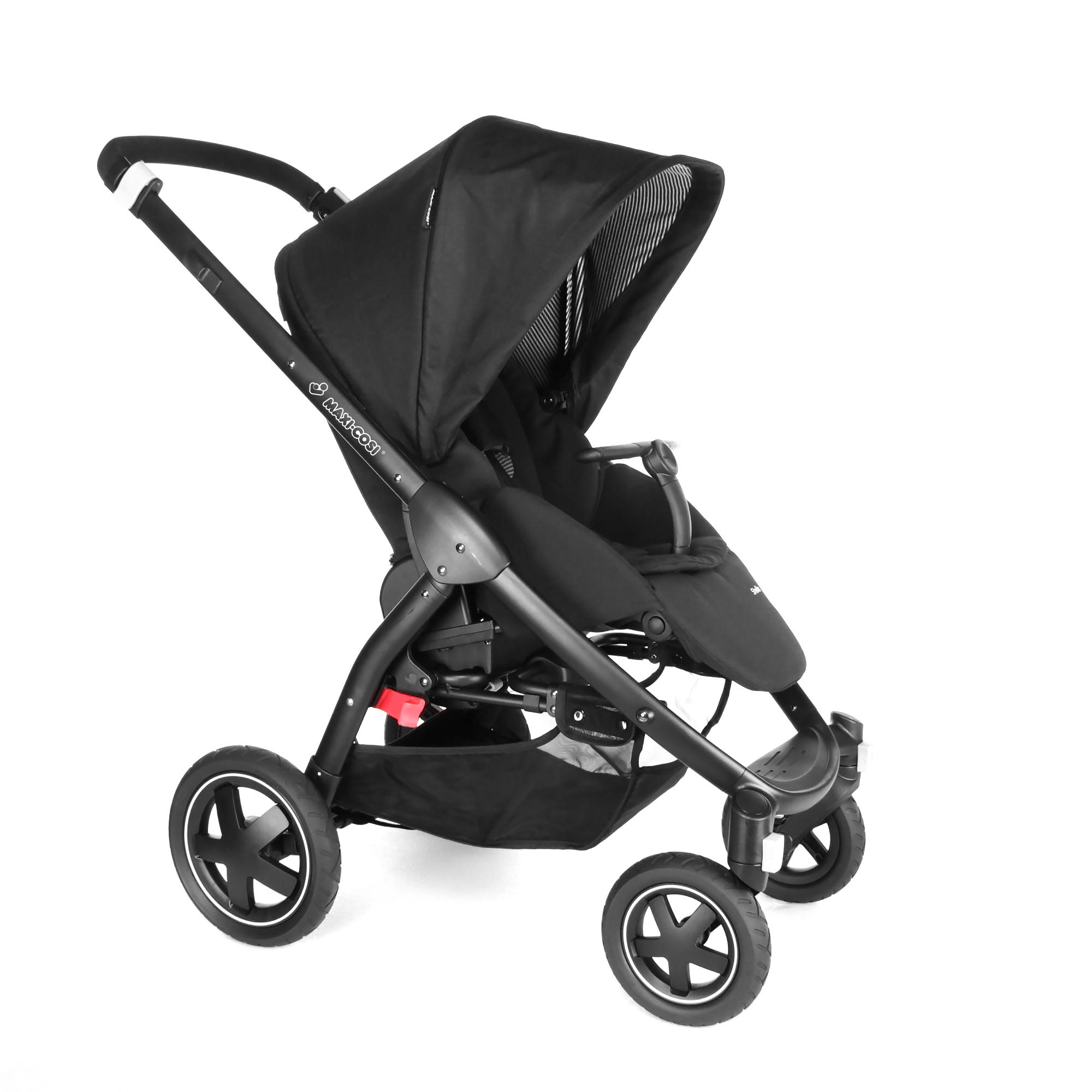 maxi cosi stroller stella 2017 black raven buy at kidsroom strollers. Black Bedroom Furniture Sets. Home Design Ideas