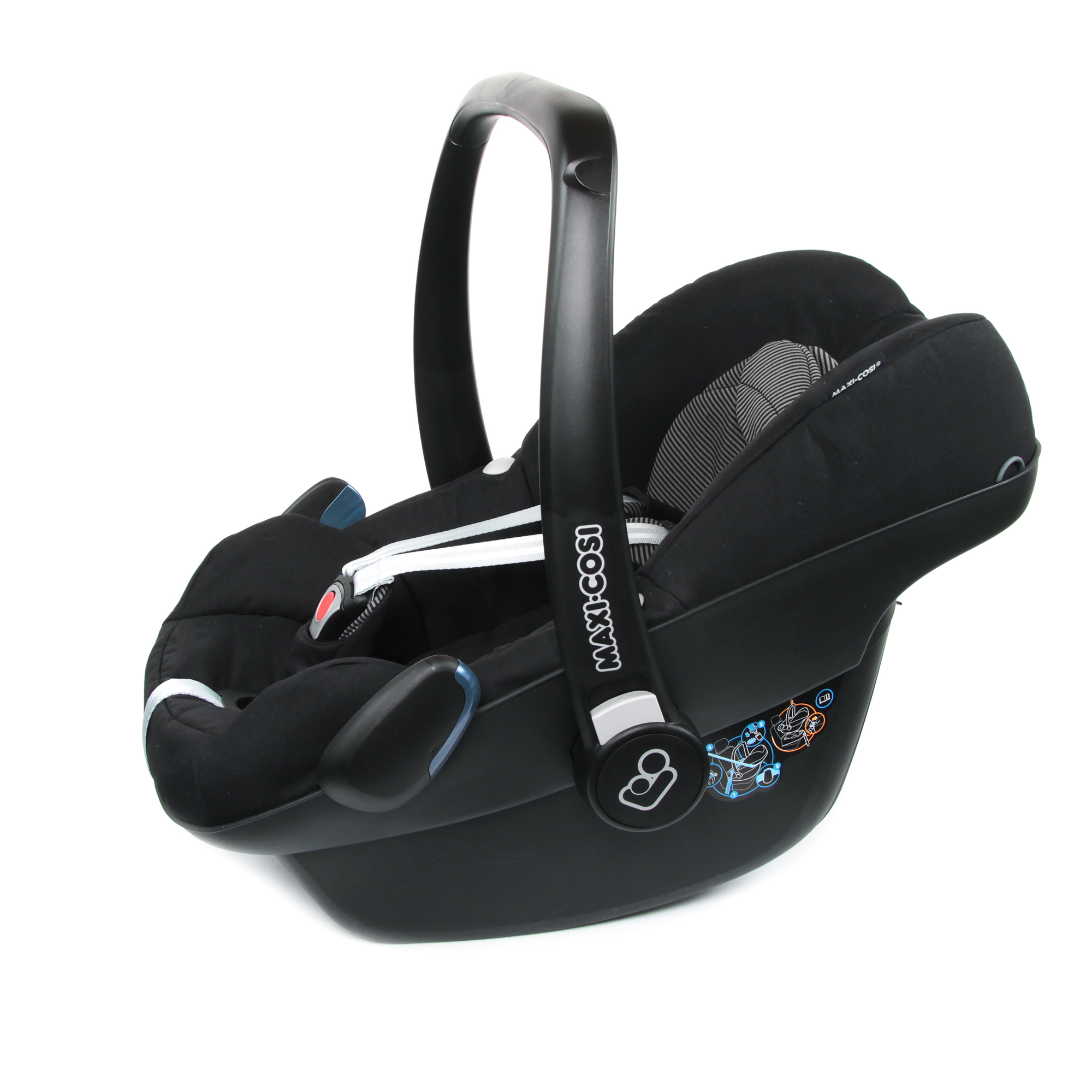 maxi cosi infant car seat pebble 2018 black raven buy at. Black Bedroom Furniture Sets. Home Design Ideas