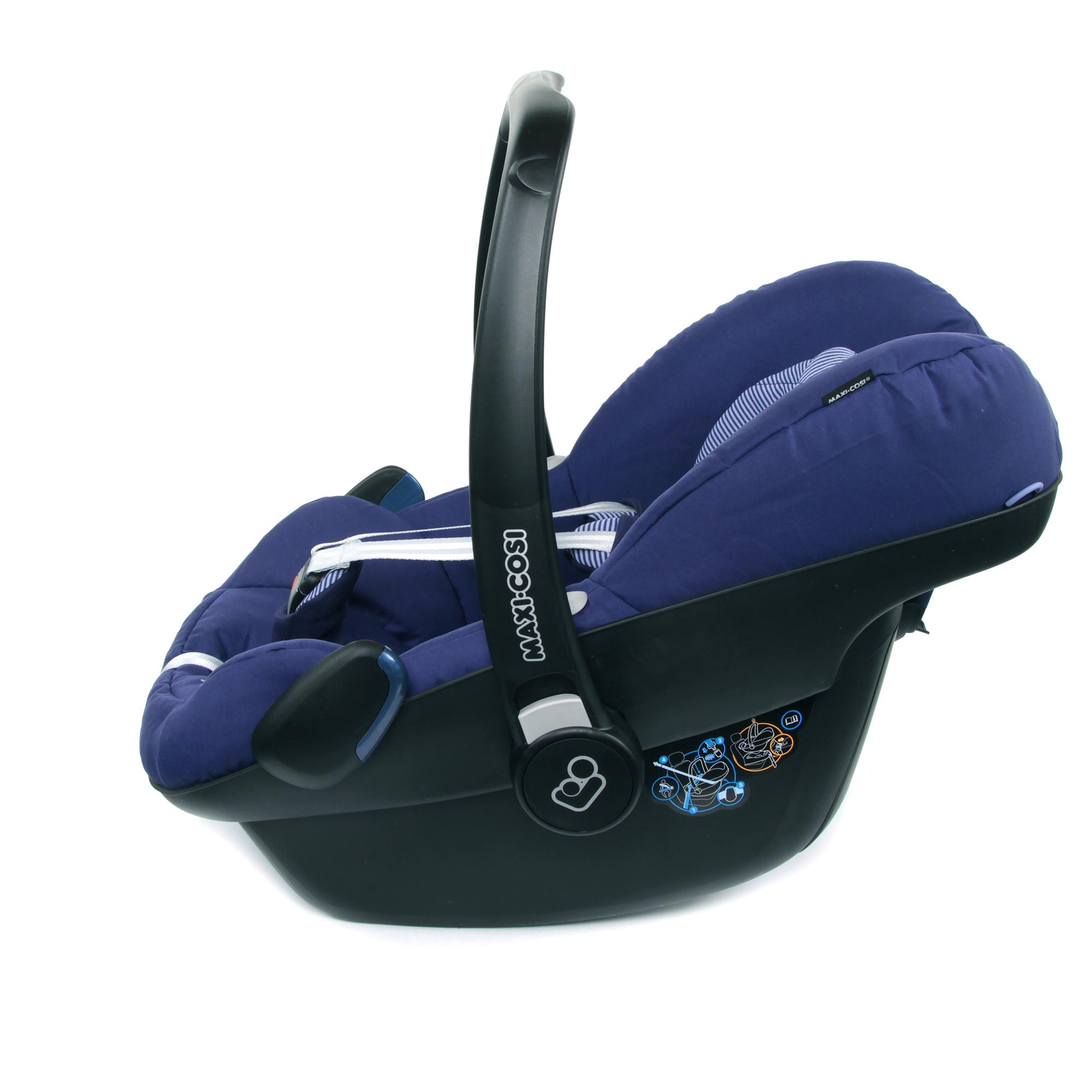 Maxi Cosi Infant Car Seat Pebble Design River Blue 2018