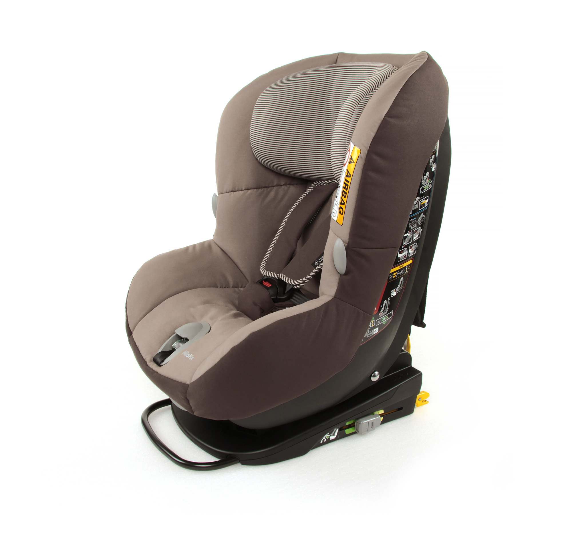 maxi cosi child car seat milofix 2017 earth brown buy at kidsroom car seats isofix child. Black Bedroom Furniture Sets. Home Design Ideas