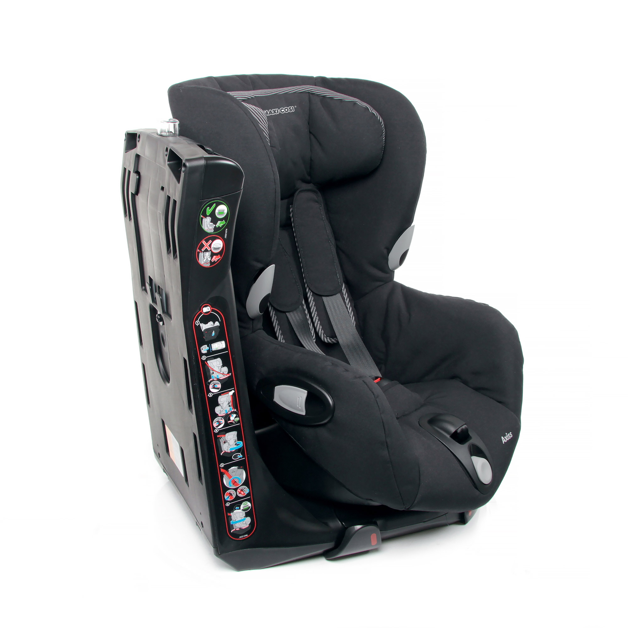 maxi cosi child car seat axiss 2017 black raven buy at kidsroom car seats. Black Bedroom Furniture Sets. Home Design Ideas