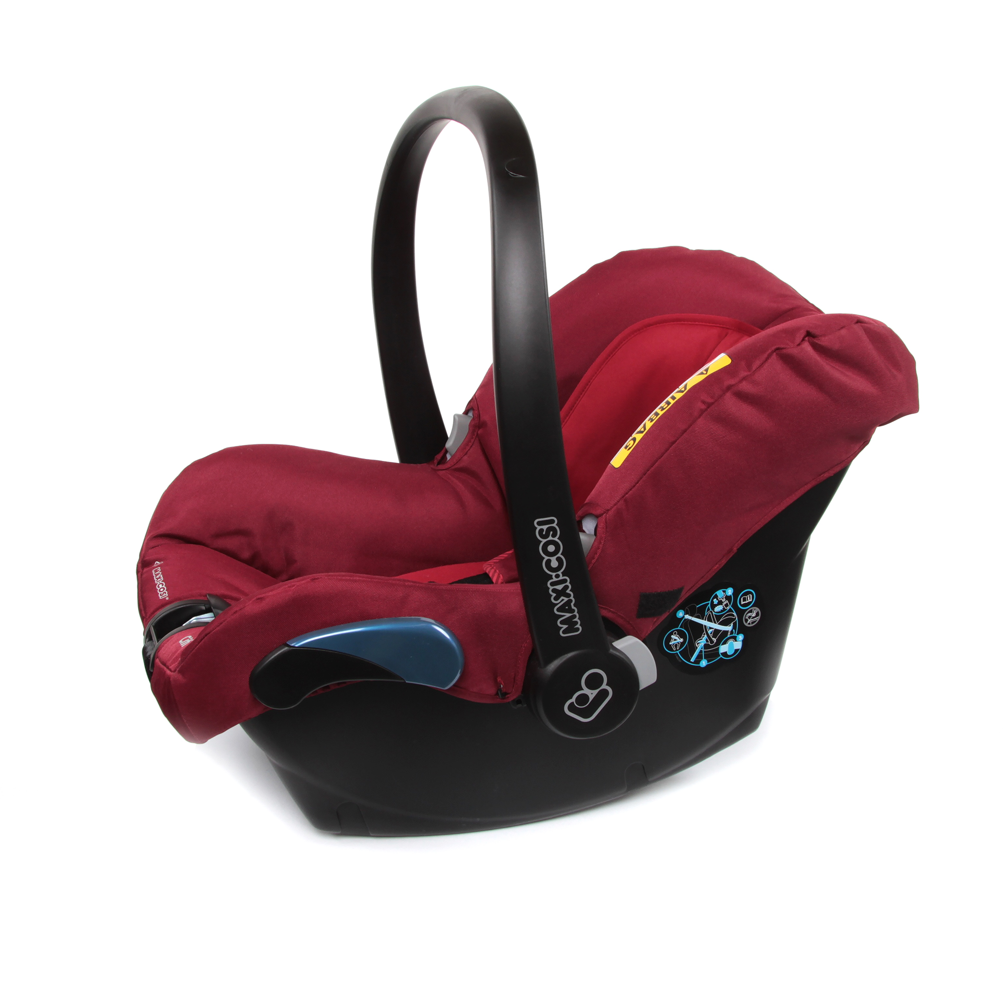 maxi cosi infant car seat citi 2018 robin red buy at kidsroom car seats. Black Bedroom Furniture Sets. Home Design Ideas